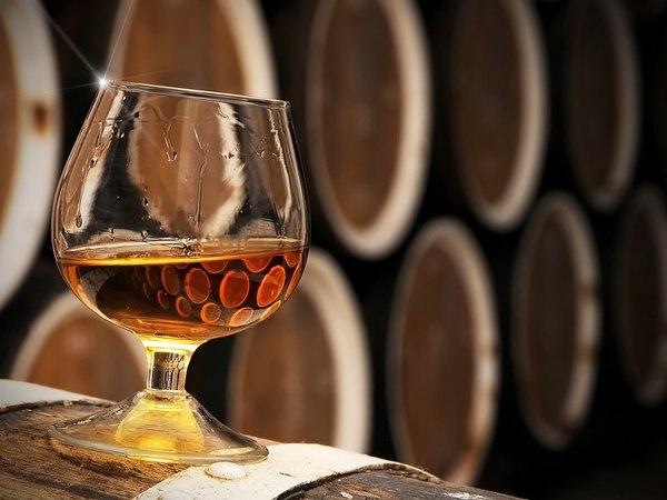 cognac +barrel